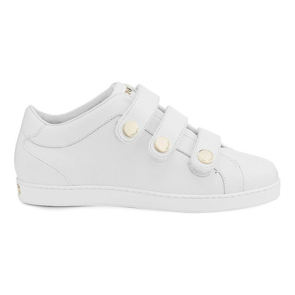ジミー チュウ jimmy choo レディース シューズ・靴 スニーカー【ny leather trainers】White