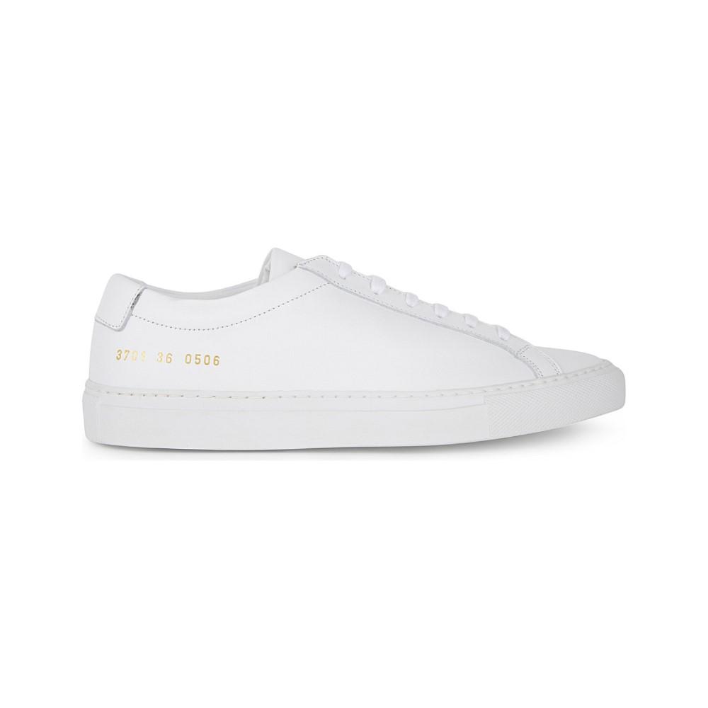 コモン プロジェクト common projects レディース シューズ・靴 スニーカー【original achilles leather low-top trainers】White mono