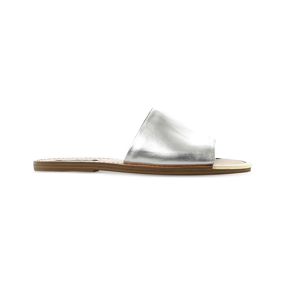 スティーブ マデン steve madden レディース シューズ・靴 サンダル【kidd leather sandals】Silver-leather