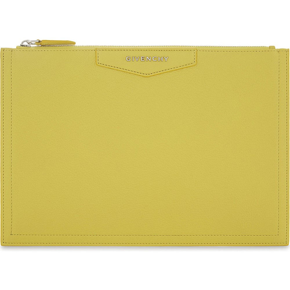 ジバンシー givenchy レディース バッグ クラッチバッグ【antigona medium leather pouch】Bright yellow
