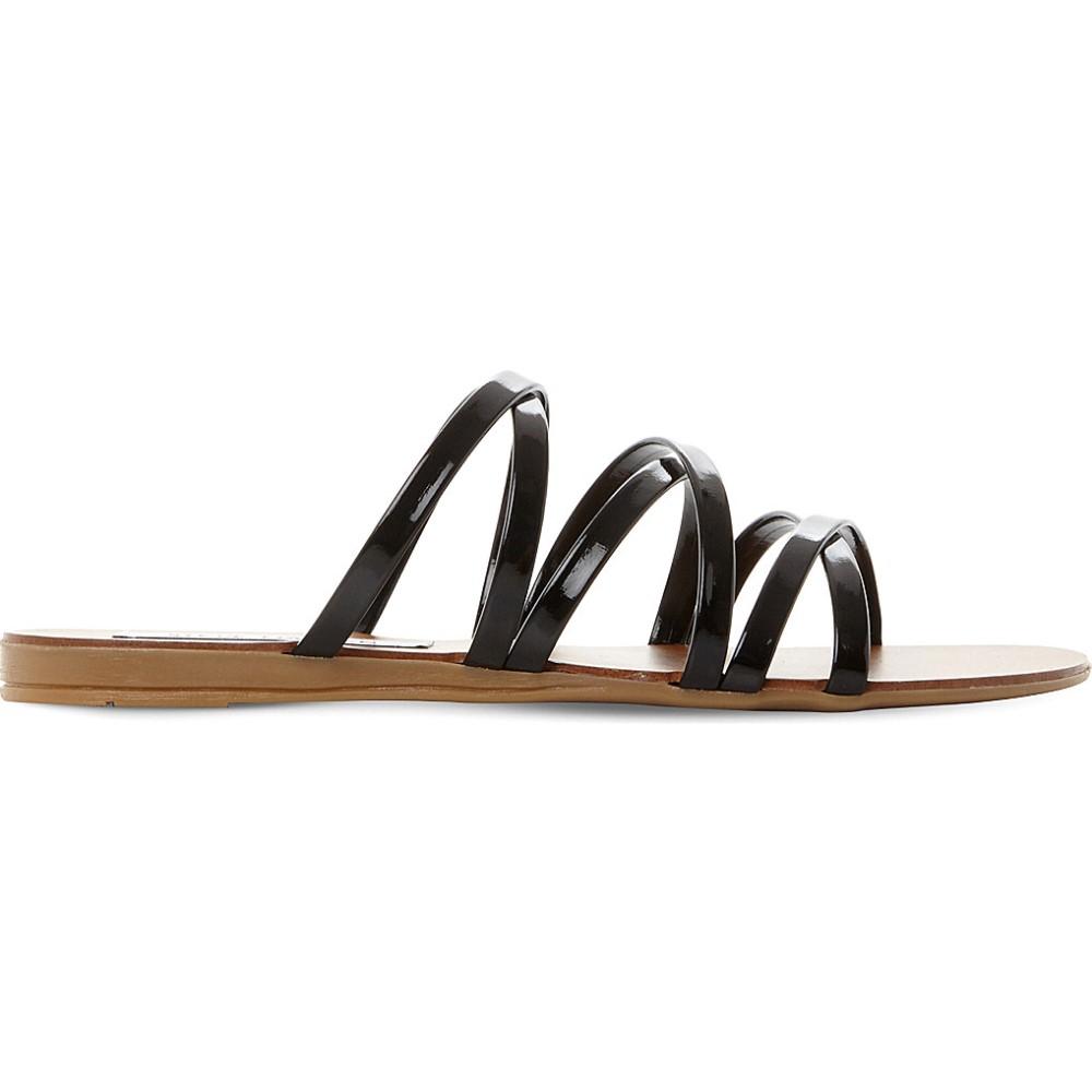 スティーブ マデン steve madden レディース シューズ・靴 サンダル・ミュール【rory ross strap patent sandals】Black-patent