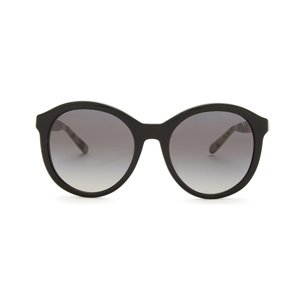 マイケル コース レディース メガネ・サングラス【mk2048 round-frame sunglasses】Black
