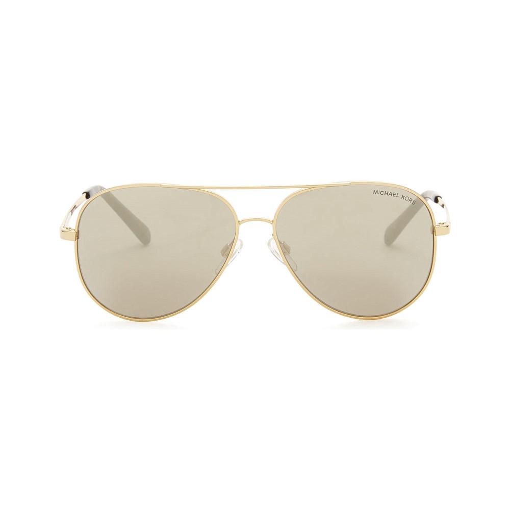 マイケル コース レディース メガネ・サングラス【mk5016 kendall aviator sunglasses】Gold