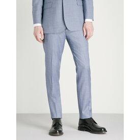 テッドベーカー メンズ ボトムス・パンツ スラックス【mahonet debonair modern-fit wool trousers】Light blue