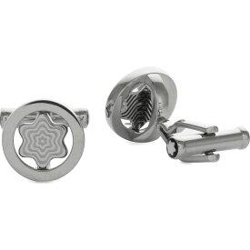 モンブラン メンズ カフス・カフリンクス【iconic swivel star cufflinks】Silver