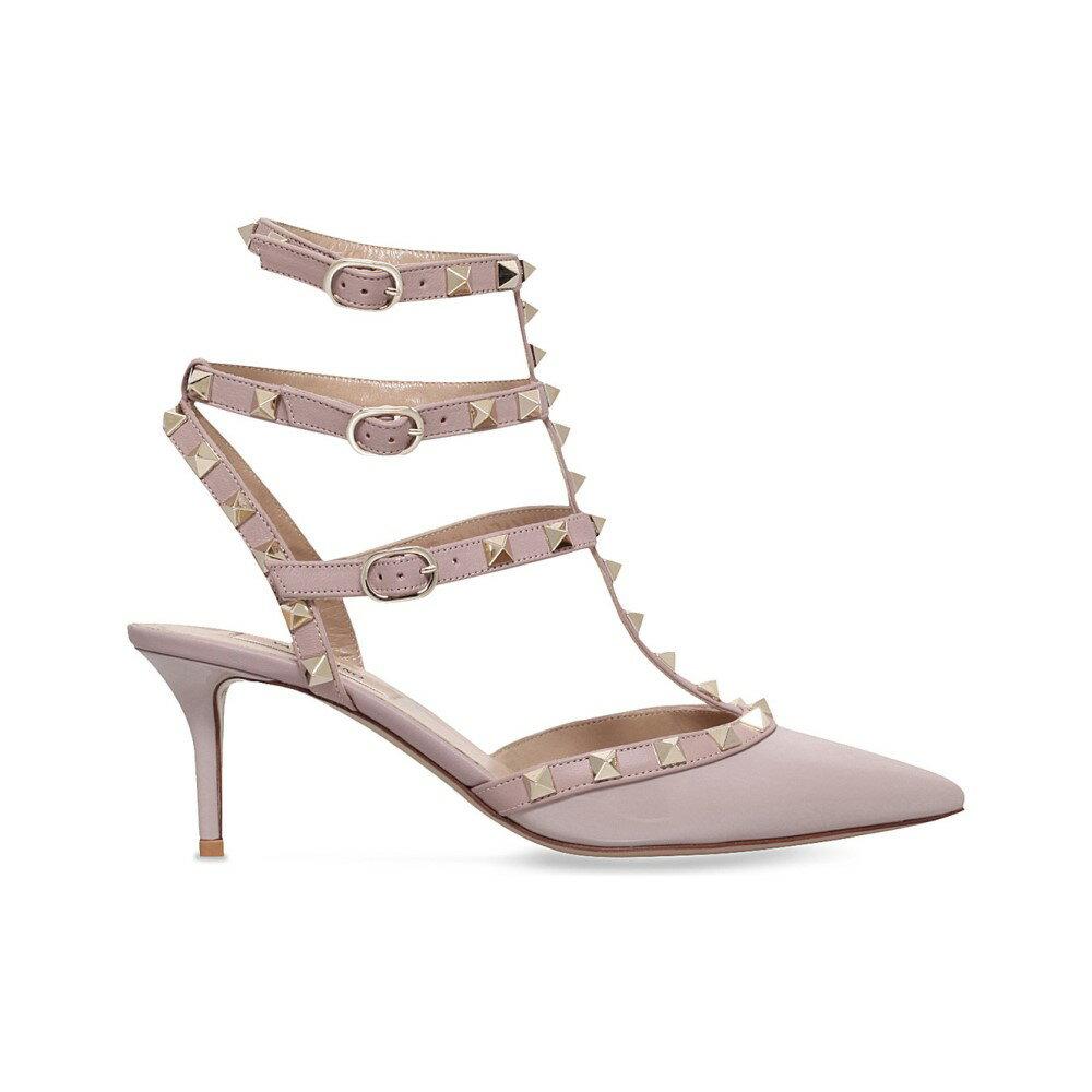 ヴァレンティノ レディース シューズ・靴 サンダル・ミュール【so noir patent-leather heeled sandals】Nude