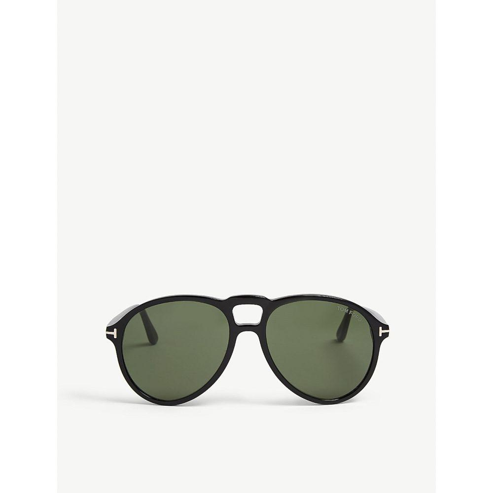 トム フォード メンズ メガネ・サングラス【lennon tf645 pilot-frame sunglasses】Green