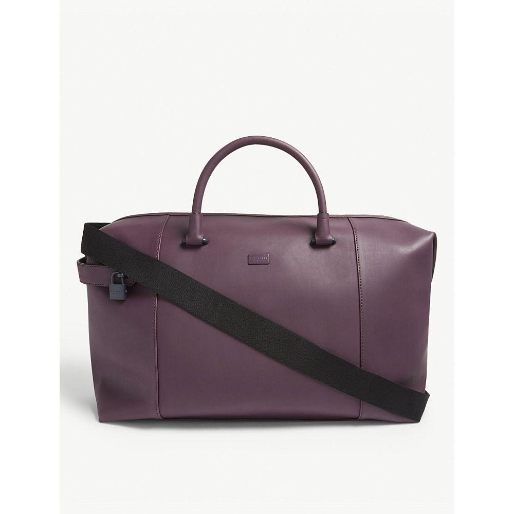 テッドベーカー ted baker メンズ バッグ ボストンバッグ・ダッフルバッグ【quakes rubber holdall】Purple