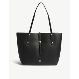 1f04fdc8fc62 コーチ coach レディース バッグ トートバッグ【market leather tote bag】Black/true red