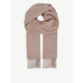 マックスマーラ max mara レディース マフラー・スカーフ・ストール【logo camel hair scarf】Pink