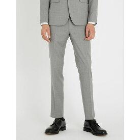 テッドベーカー ted baker メンズ ボトムス・パンツ スラックス【debonair wool trousers】Light grey