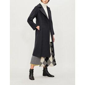 マックスマーラ max mara レディース アウター コート【manuela camel hair wrap coat】Navy