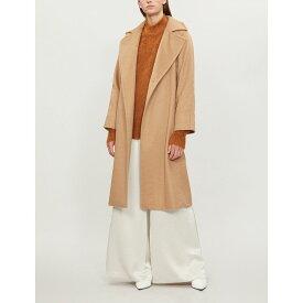 マックスマーラ max mara レディース アウター コート【manuela camel hair wrap coat】Camel