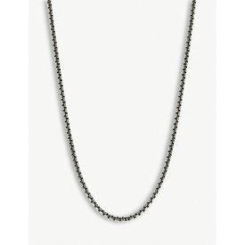 トムウッド tom wood メンズ ジュエリー・アクセサリー ネックレス【venetian chain necklace】Silver