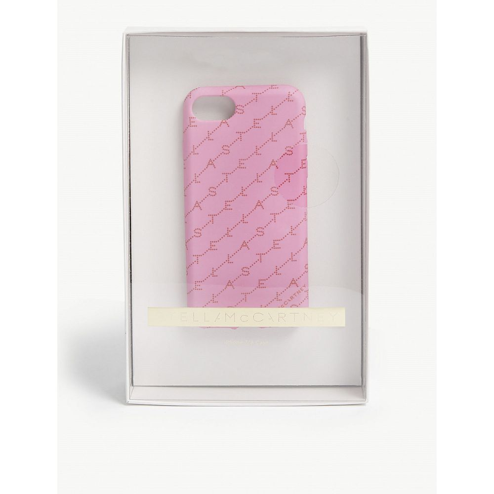ステラ マッカートニー stella mccartney レディース iPhone (8)ケース【monogram iphone 7/8 case】Pink