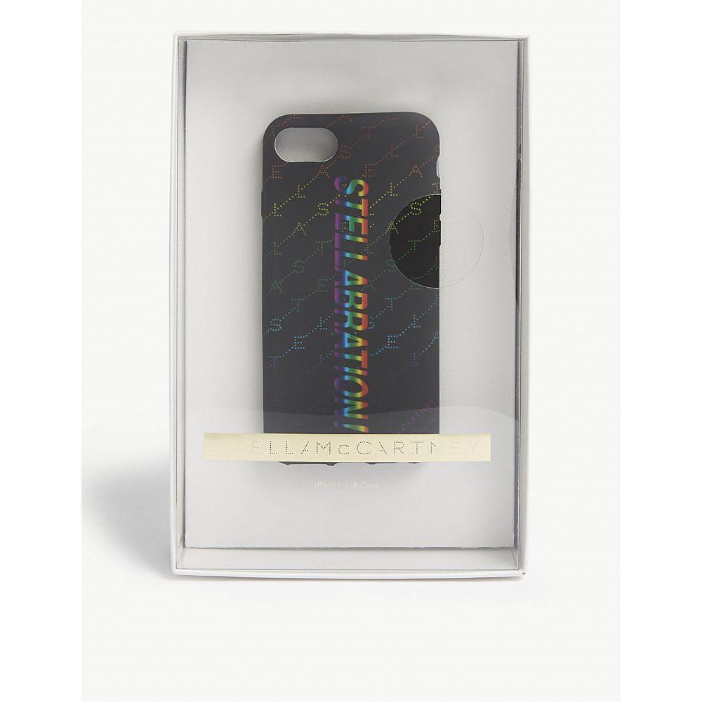 ステラ マッカートニー stella mccartney レディース iPhone (8)ケース【stellabration iphone 7/8 case】Black