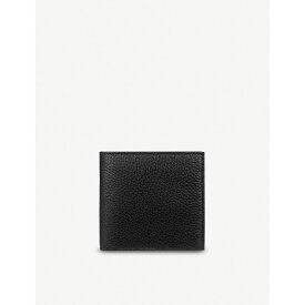 スマイソン smythson メンズ 財布【burlington 8 card leather wallet】Black