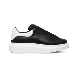 アレキサンダー マックイーン alexander mcqueen メンズ シューズ・靴 スニーカー【show leather platform trainers】Blk/white