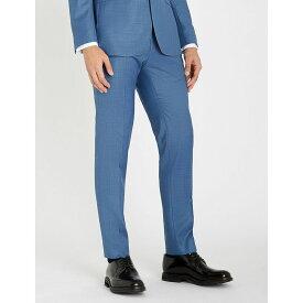 テッドベーカー ted baker メンズ ボトムス・パンツ スラックス【kernalt debonair modern-fit wool trousers】Lt-blue