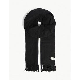 ラグ&ボーン rag & bone レディース マフラー・スカーフ・ストール【classic tasselled wool scarf】Black