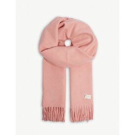 ラグ&ボーン rag & bone レディース マフラー・スカーフ・ストール【classic tasselled wool scarf】Pink
