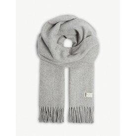 ラグ&ボーン rag & bone レディース マフラー・スカーフ・ストール【classic tasselled wool scarf】Lththr gry
