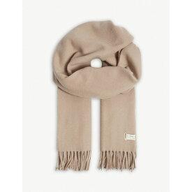 ラグ&ボーン rag & bone レディース マフラー・スカーフ・ストール【classic tasselled wool scarf】Camel