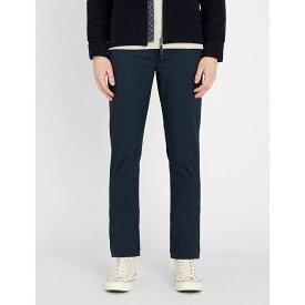 テッドベーカー ted baker メンズ ボトムス・パンツ【regular-fit tapered woven trousers】Navy