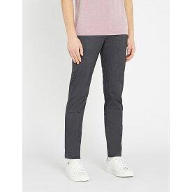 テッドベーカー ted baker メンズ ボトムス・パンツ【regular-fit tapered woven trousers】Charcoal