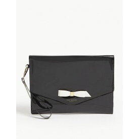 ce6b6be1c テッドベーカー ted baker レディース ポーチ bow envelope pouch Black