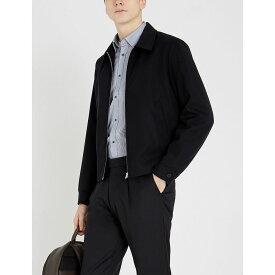 テッドベーカー ted baker メンズ トップス シャツ【yerman striped cotton-blend shirt】Navy