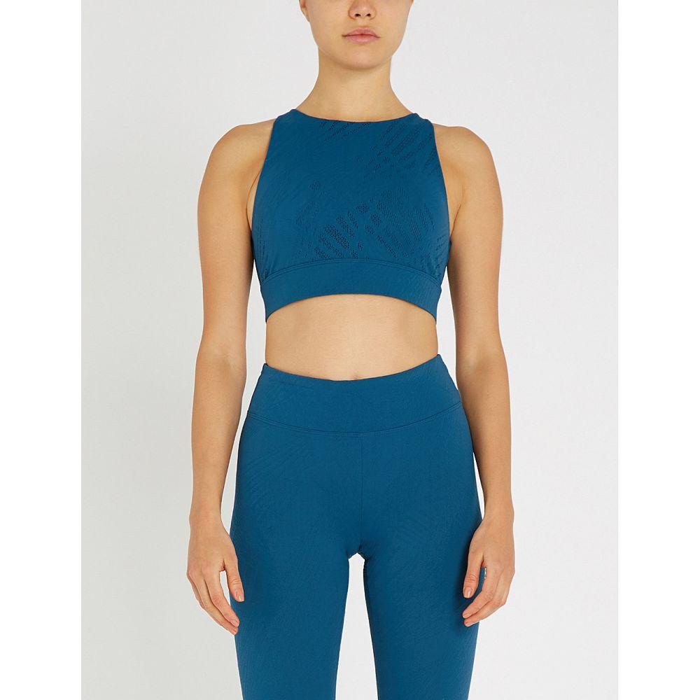 コラール koral レディース インナー・下着 スポーツブラ【zenith maxen stretch-mesh sports bra】Azurite