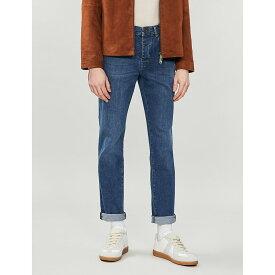 テッドベーカー ted baker メンズ ボトムス・パンツ ジーンズ・デニム【breezie regular-fit straight jeans】Blue