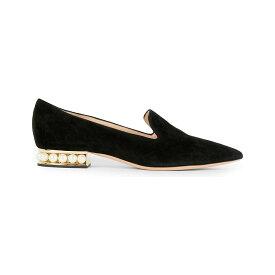 ニコラス カークウッド nicholas kirkwood レディース シューズ・靴 ローファー・オックスフォード【casati suede loafers】Black