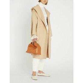 マックスマーラ max mara レディース アウター コート【pucci shawl-lapel camel-hair wrap coat】Albino