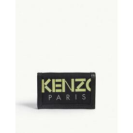 ケンゾー kenzo メンズ 財布【reflective leather wallet】Blk yel sil