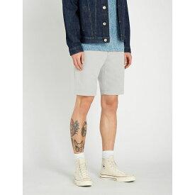 テッドベーカー ted baker メンズ ボトムス・パンツ ショートパンツ【selshor stretch-cotton chino shorts】Lt-grey