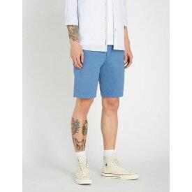 テッドベーカー ted baker メンズ ボトムス・パンツ ショートパンツ【selshor stretch-cotton chino shorts】Brt-blue