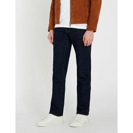 テッドベーカー ted baker メンズ ボトムス・パンツ ジーンズ・デニム【jinsey regular-fit straight jeans】Navy