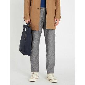 テッドベーカー ted baker メンズ ボトムス・パンツ スキニー・スリム【stelim slim-fit cotton-blend twill trousers】Grey