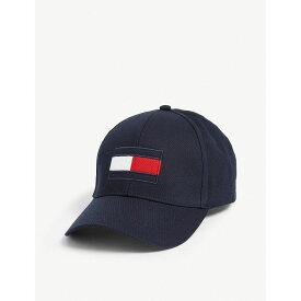 5f15a1c9 トミー ヒルフィガー tommy hilfiger メンズ 帽子 キャップ【logo flag cotton cap】Tommy navy