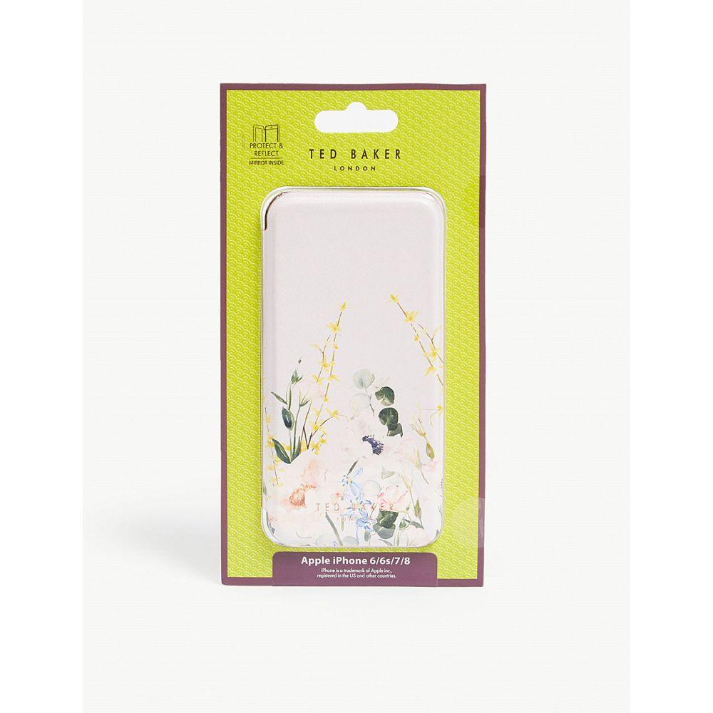 テッドベーカー ted baker レディース iPhone (8)ケース【cabe iphone 6/6s/7/8 folding case】Nude-pink