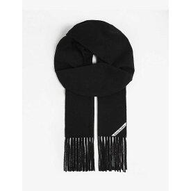 アクネ ストゥディオズ ACNE STUDIOS メンズ マフラー・スカーフ・ストール【Canada New scarf】Black