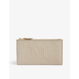 マックスマーラ MAX MARA レディース 財布【Leather wallet】Natural