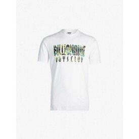 ビリオネアボーイズクラブ BILLIONAIRE BOYS CLUB メンズ トップス Tシャツ【Logo-print cotton-jersey T-shirt】White