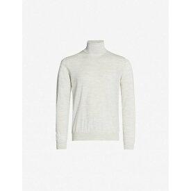 ランバン LANVIN メンズ トップス ニット・セーター【Turtleneck wool jumper】Off white