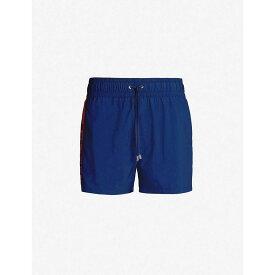 バルマン BALMAIN メンズ 水着・ビーチウェア 海パン【Logo-print swim shorts】Navy