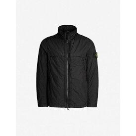 ストーンアイランド STONE ISLAND メンズ アウター ジャケット【Contrast-trim shell jacket】Black