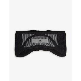 アディダス ADIDAS BY STELLA MCCARTNEY レディース ヘアアクセサリー【Logo headband】Black reflective silver