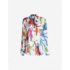 ステラ マッカートニー STELLA MCCARTNEY レディース トップス ブラウス・シャツ【Graphic-print silk shirt】Multi